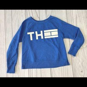TOMMY HILFIGER SPORT Crew Neck Sweater in Cobalt